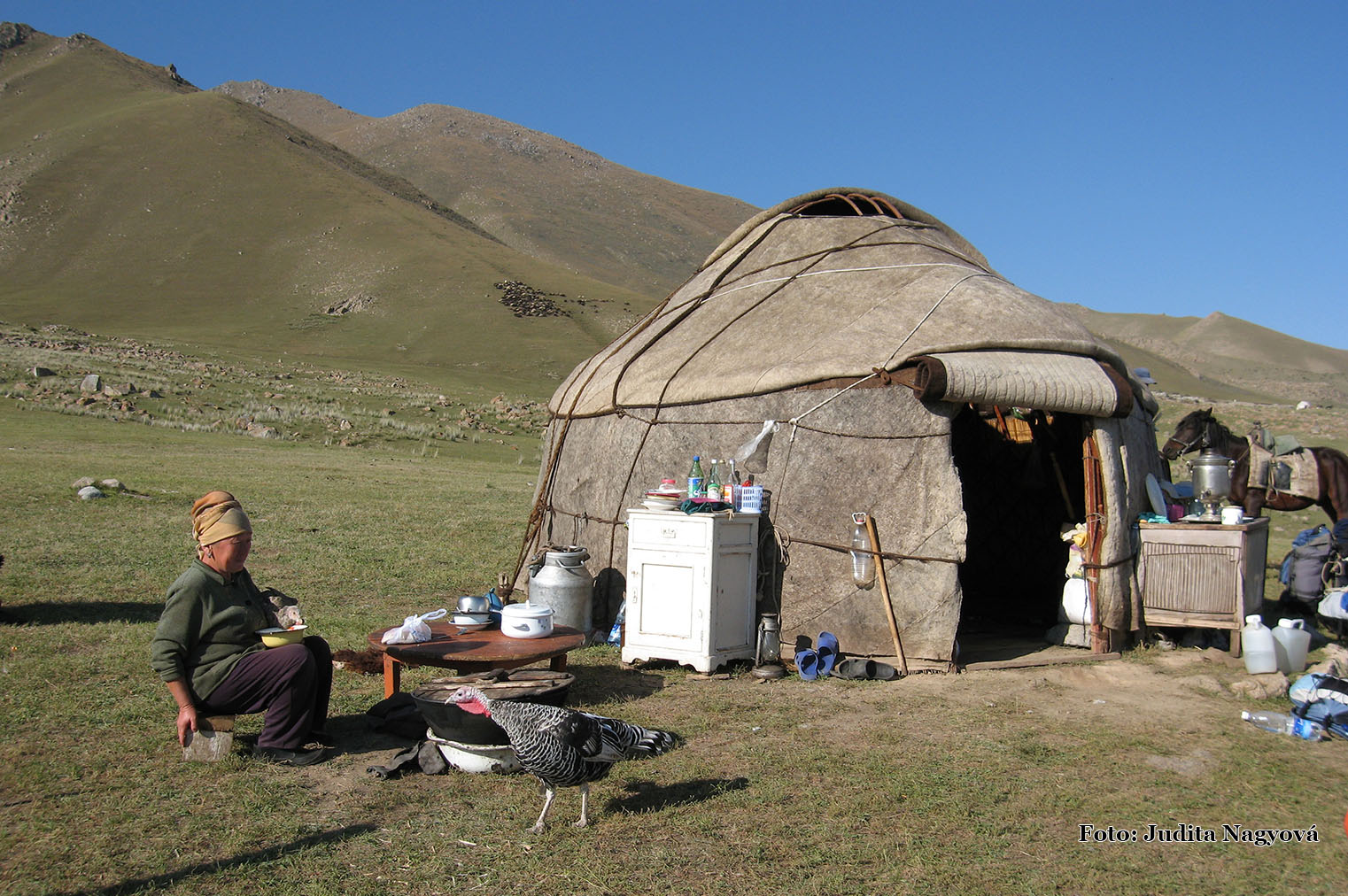 Tradičná jurta