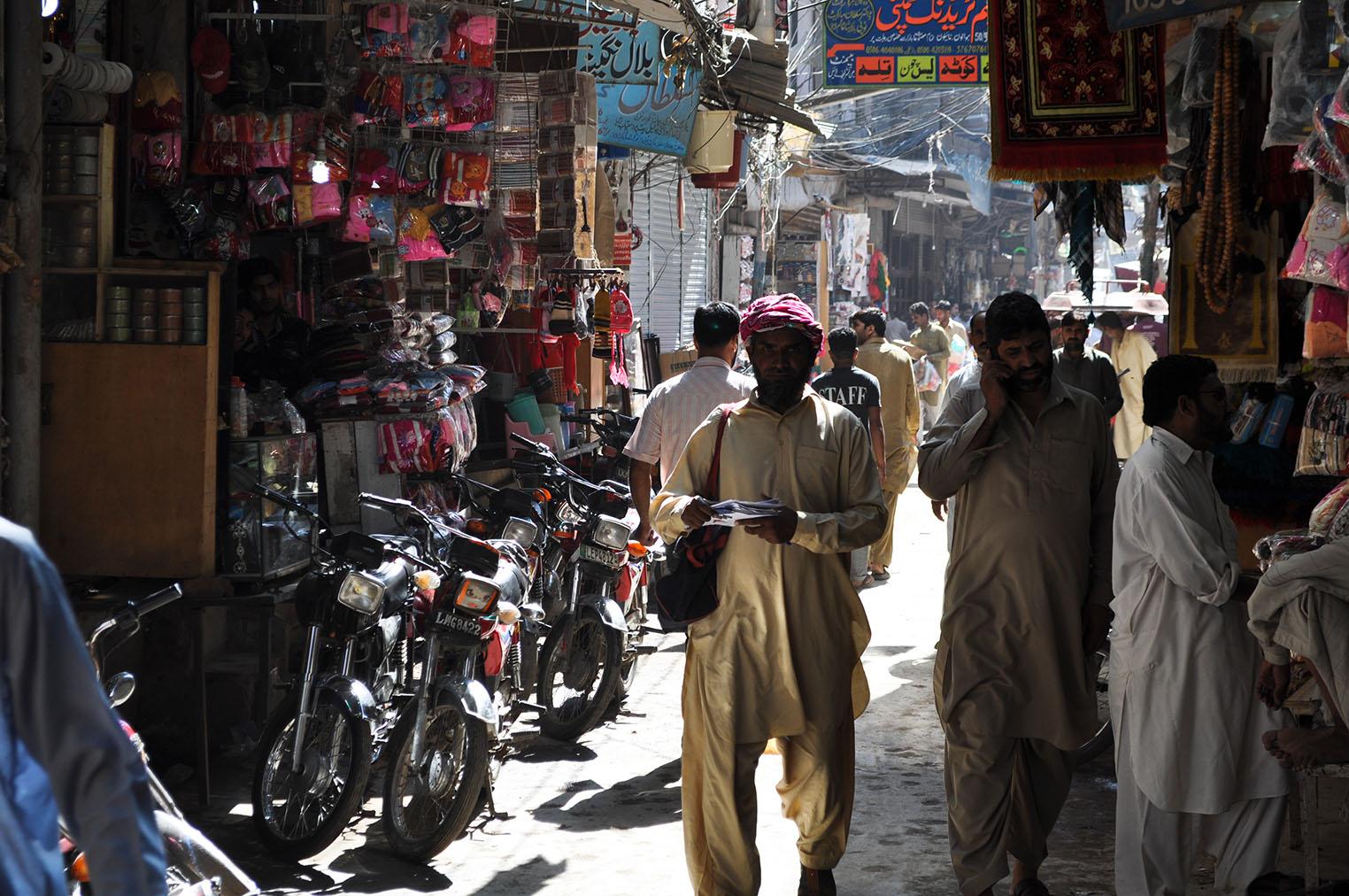 Bazár v Lahore
