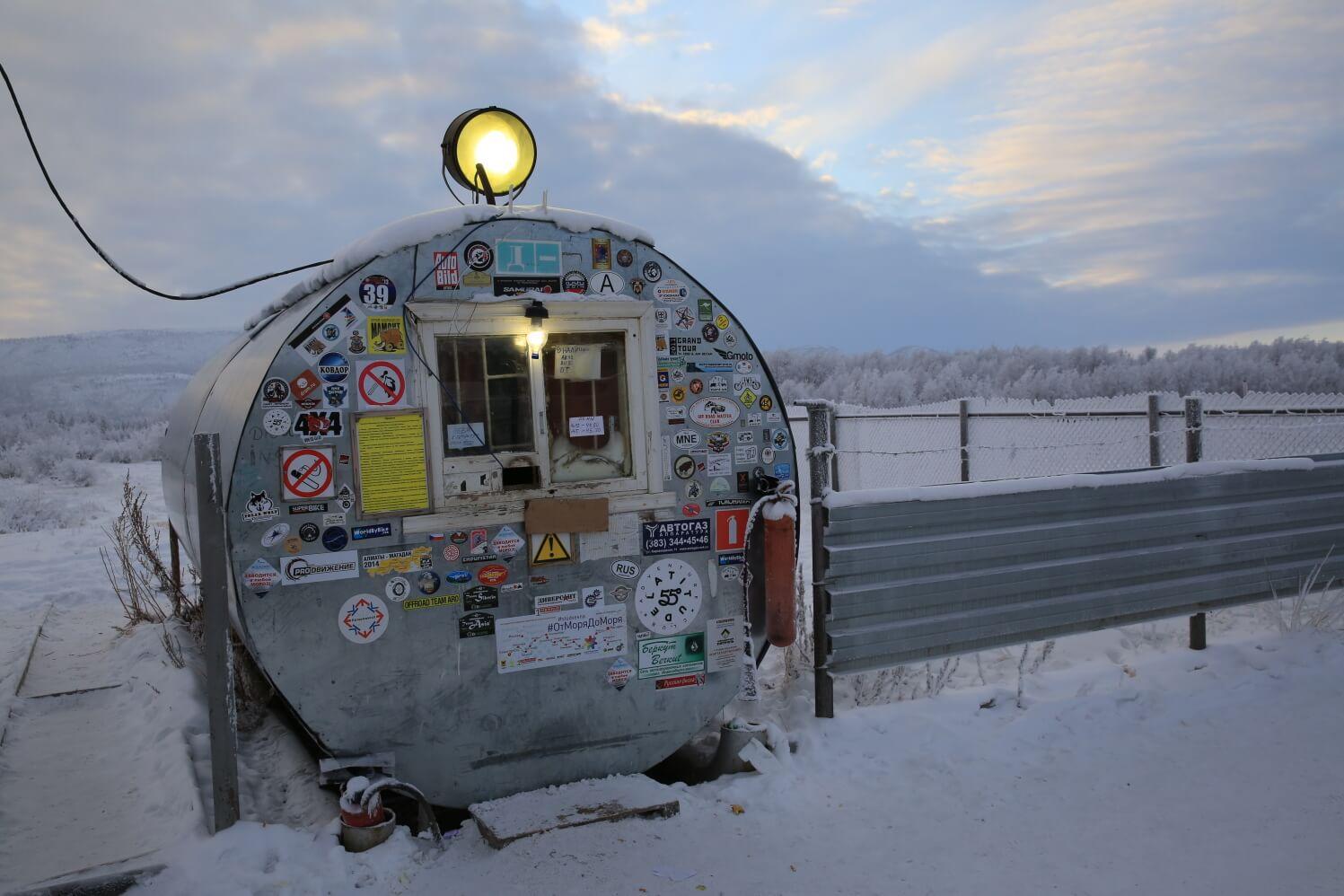 Pól chladu alebo ako sa cestuje pri mínus 53