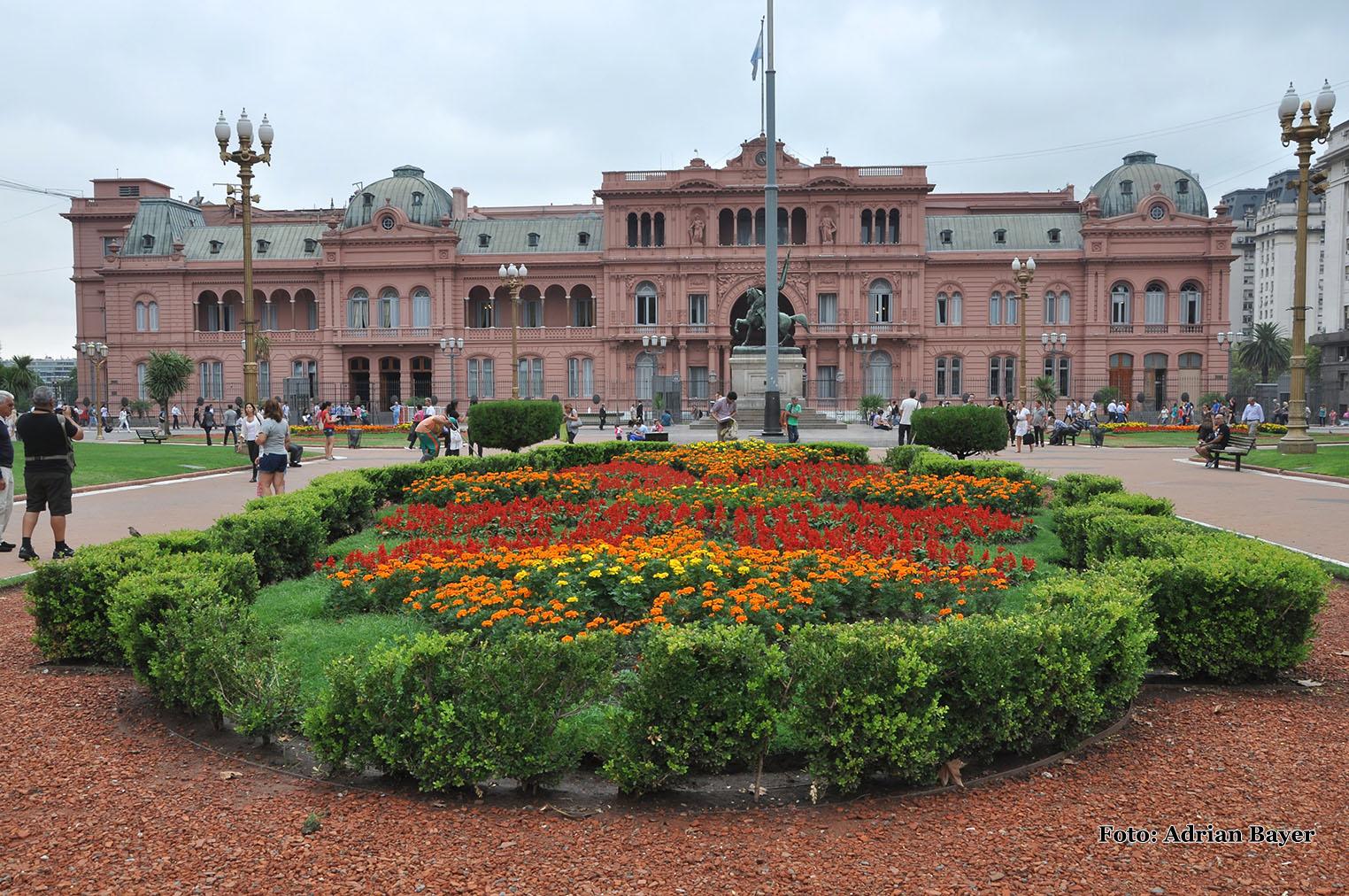 Buenos Aires - prezidentský palác
