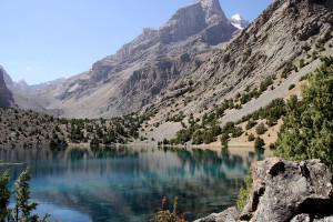 Fann mountains - Alaudinske jazera