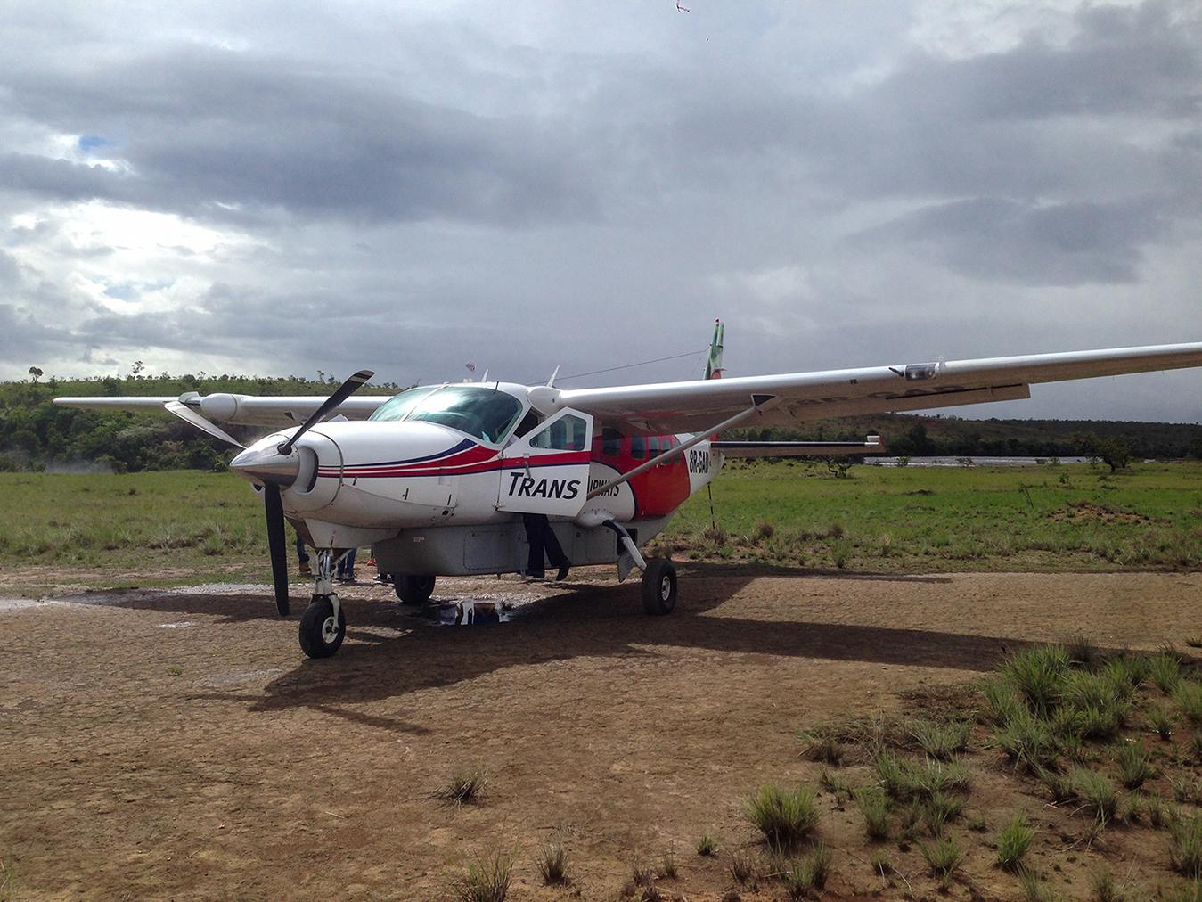 Let súkromným lietadlom k vodopádu Kaieteur