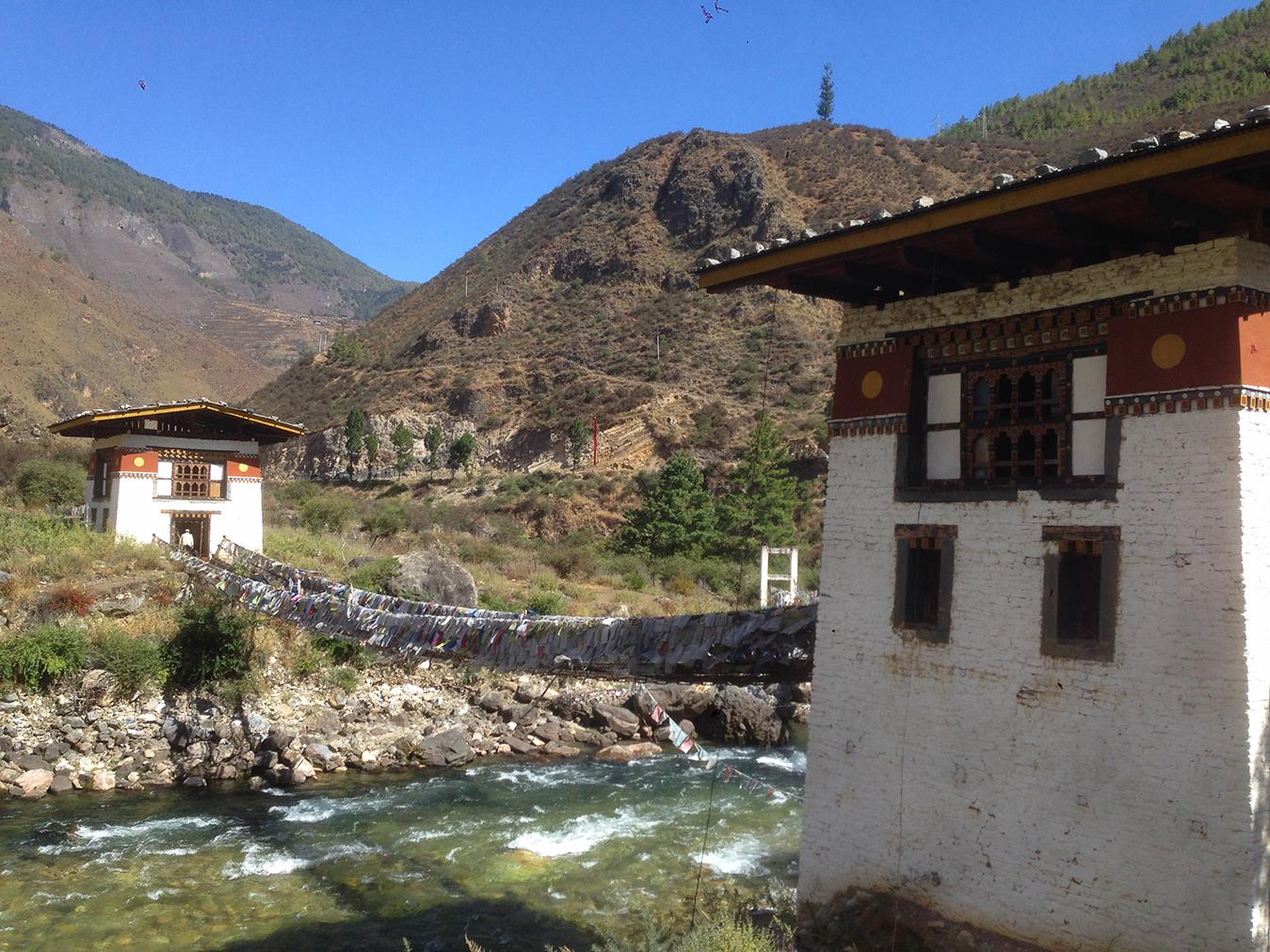Najstarší most v Bhutáne