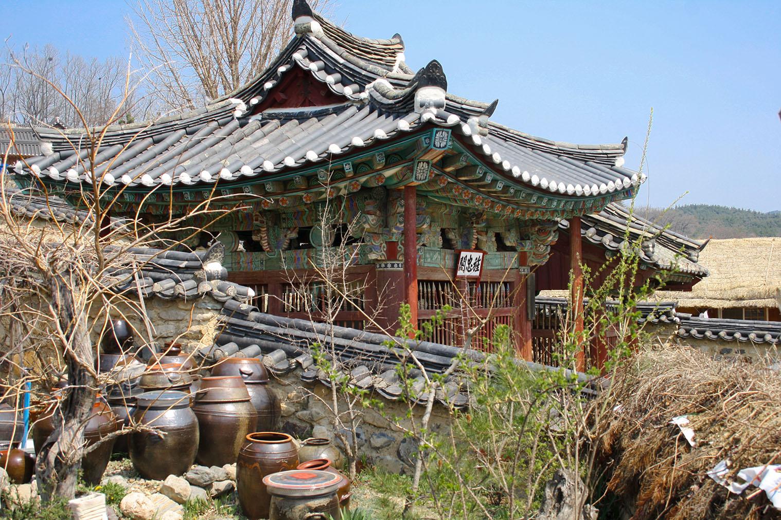 Kórejský skanzen - Suwon