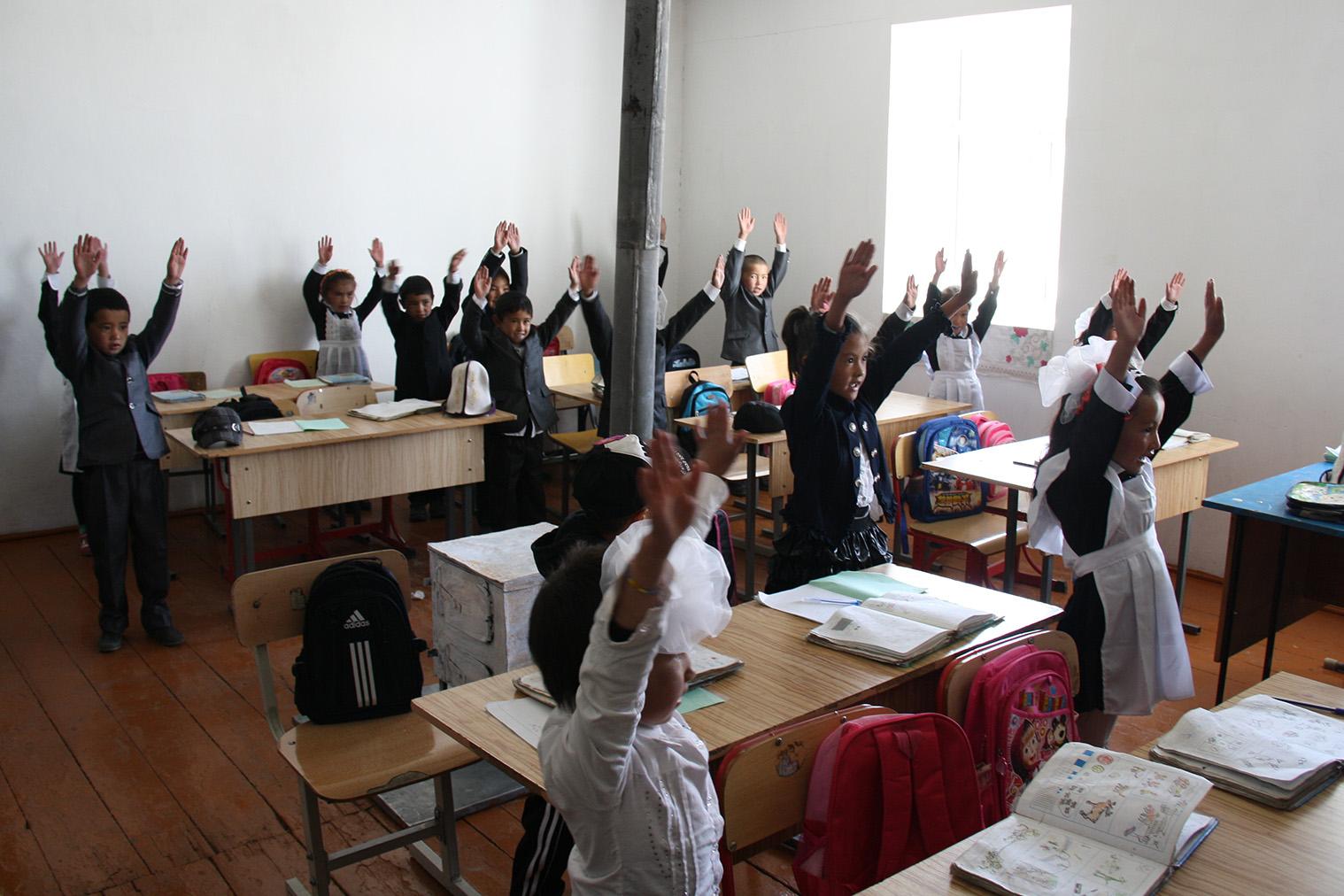 Základná škola v Karakule