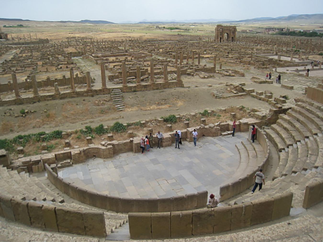 Koloseum Timgad