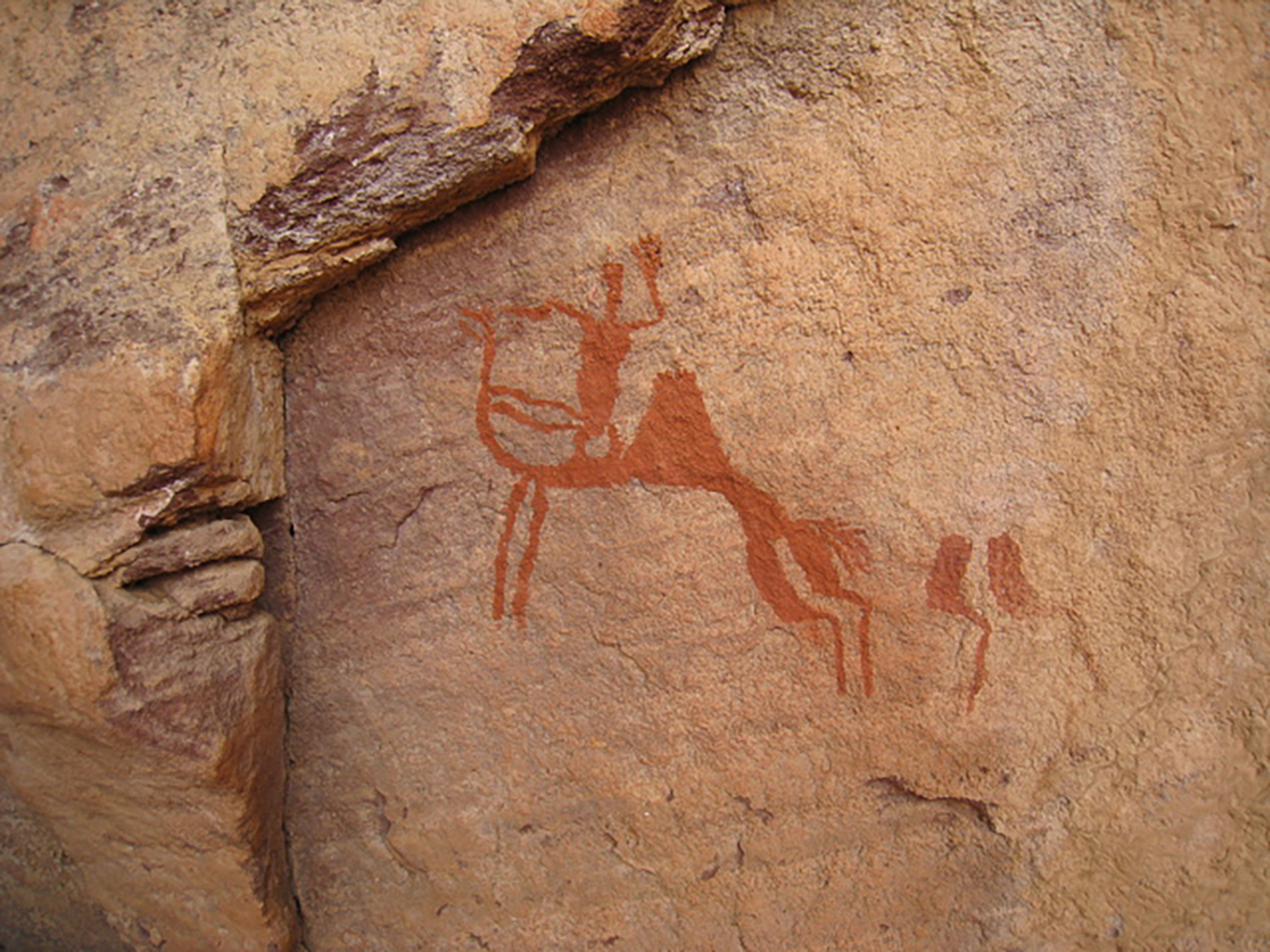 Kresby v Sahare