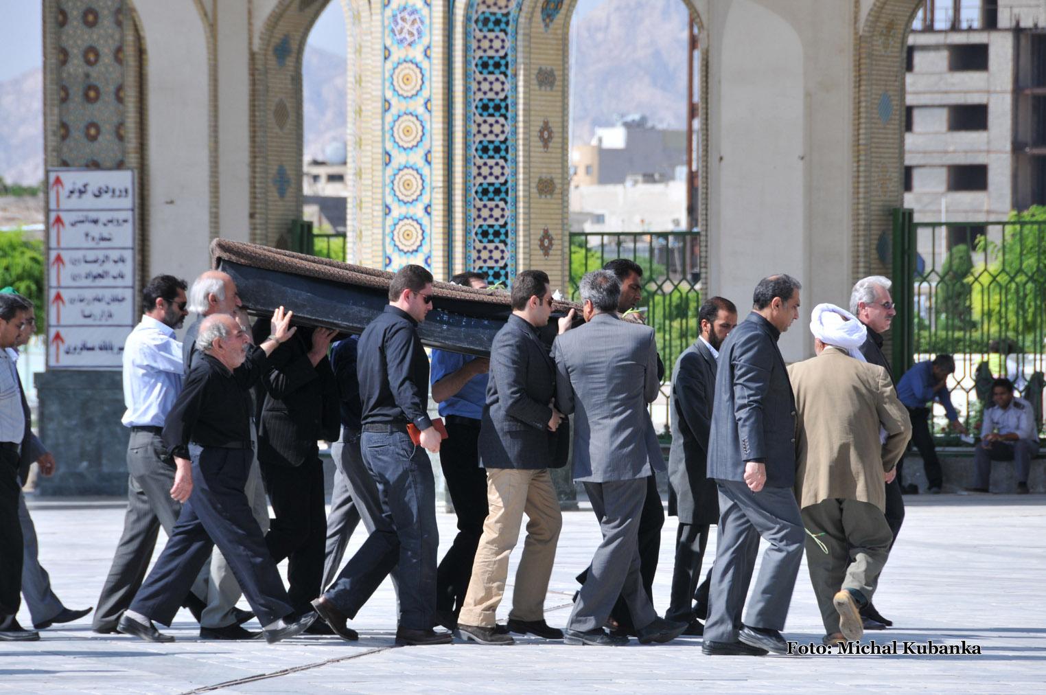 Najposvätnejšie miesto šítov v Mašhade