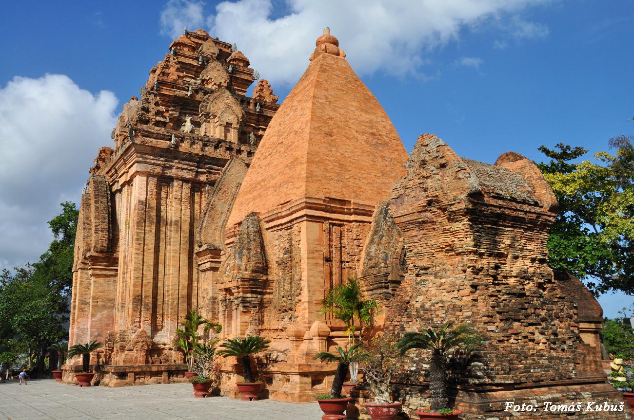 Nha Trang - čamské veže Po Nagar