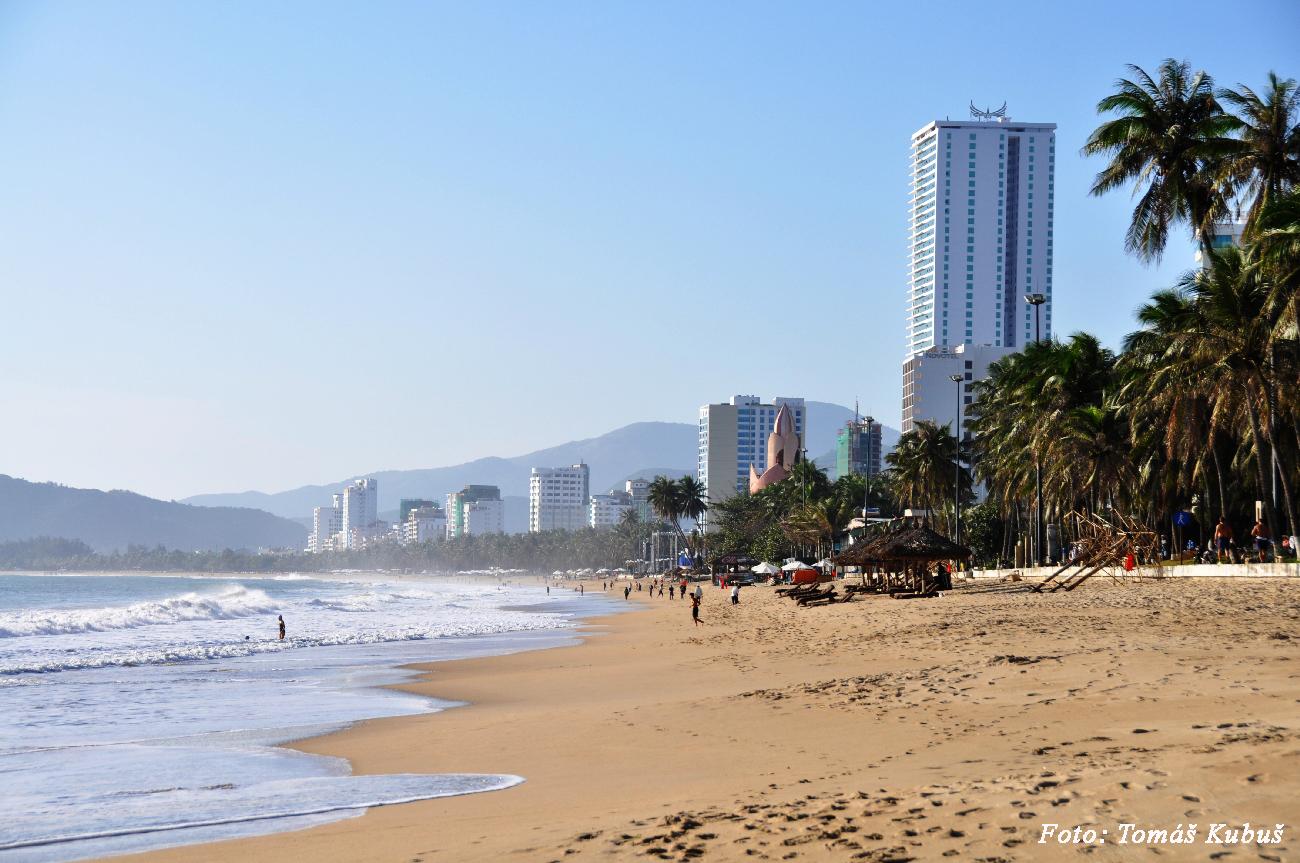 Nha Trang - najväčšie pláže Vietnamu