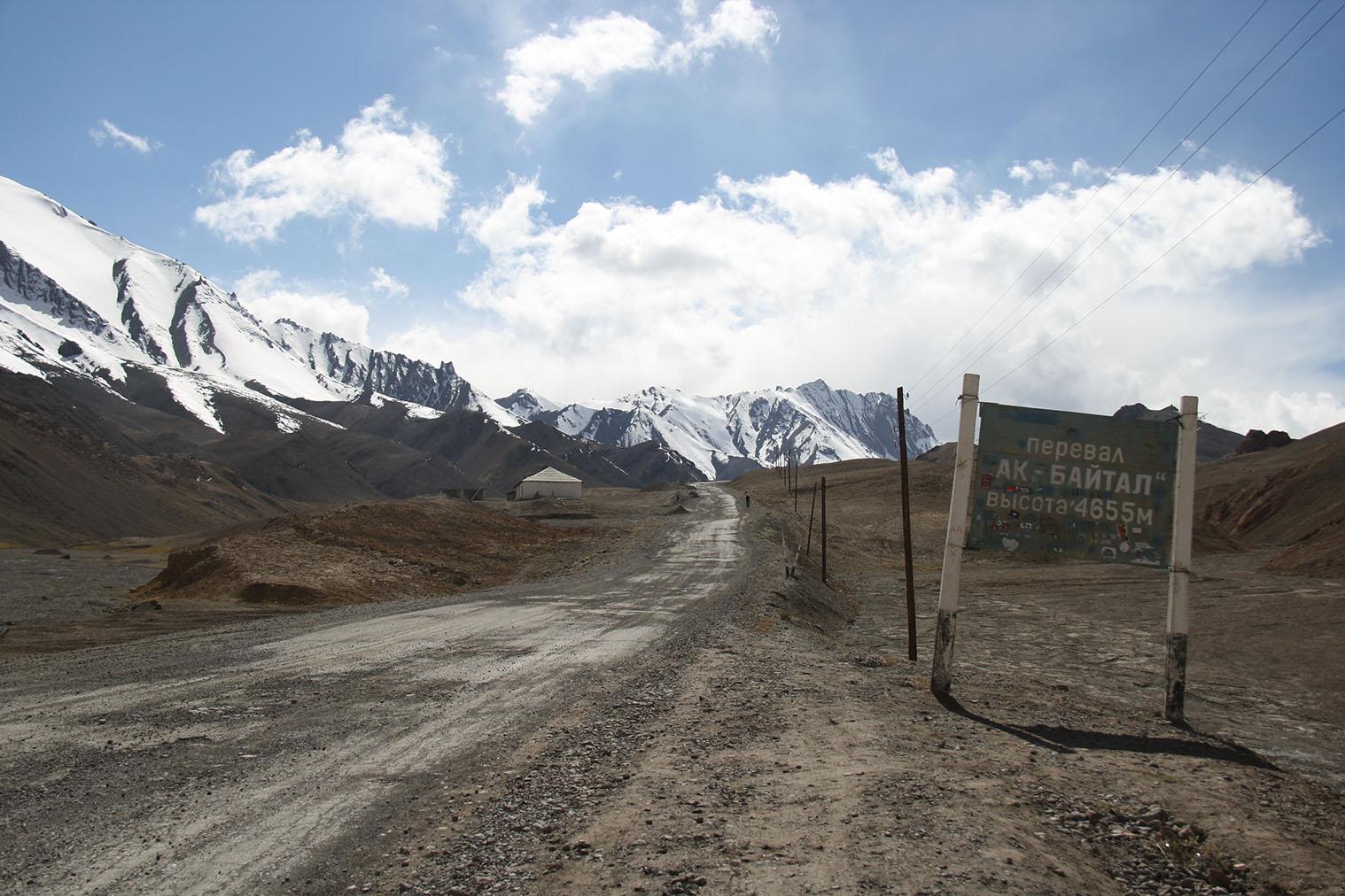 Pamir Highway - najvyšší bod