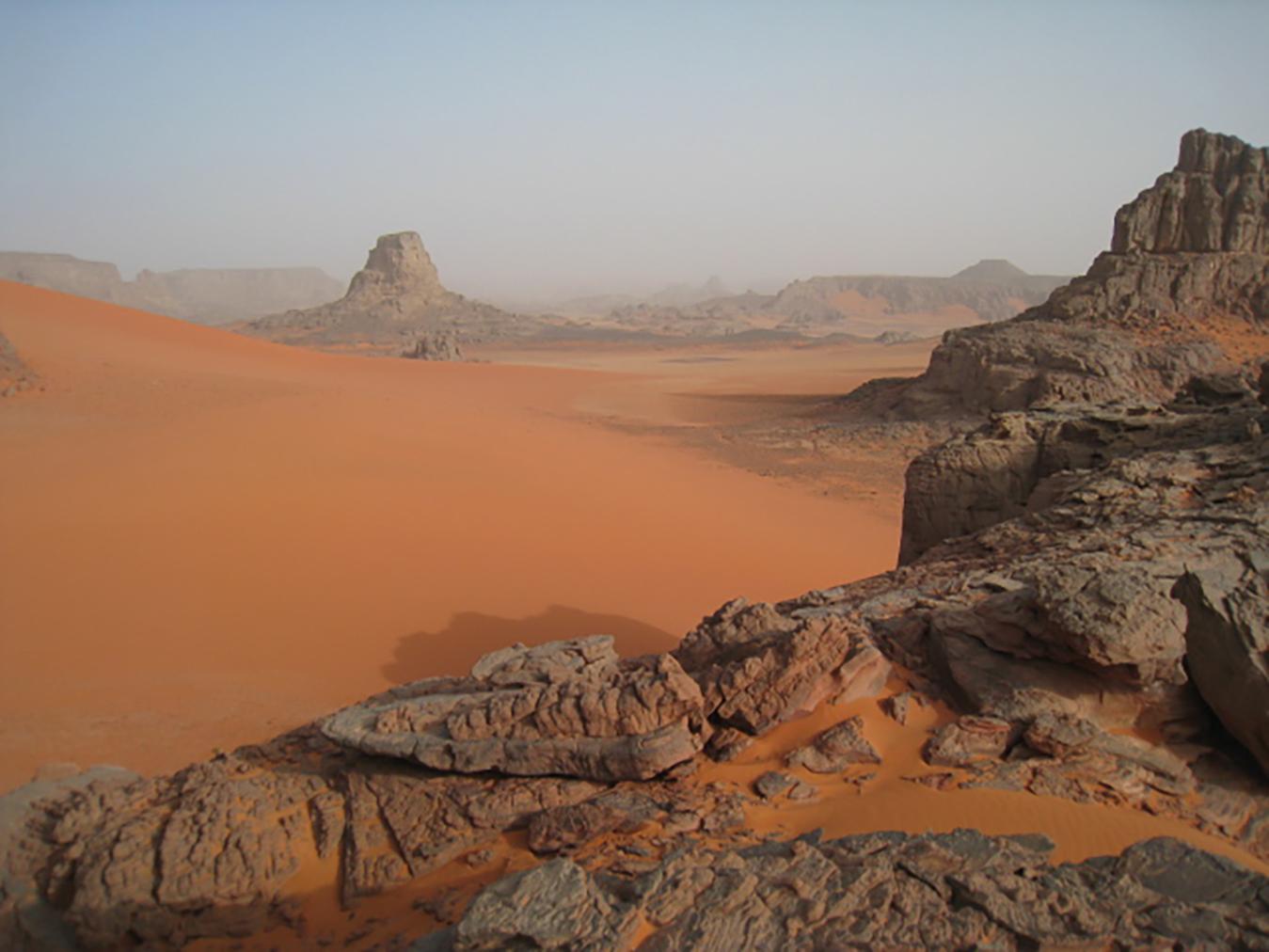Sahara pri Djanet