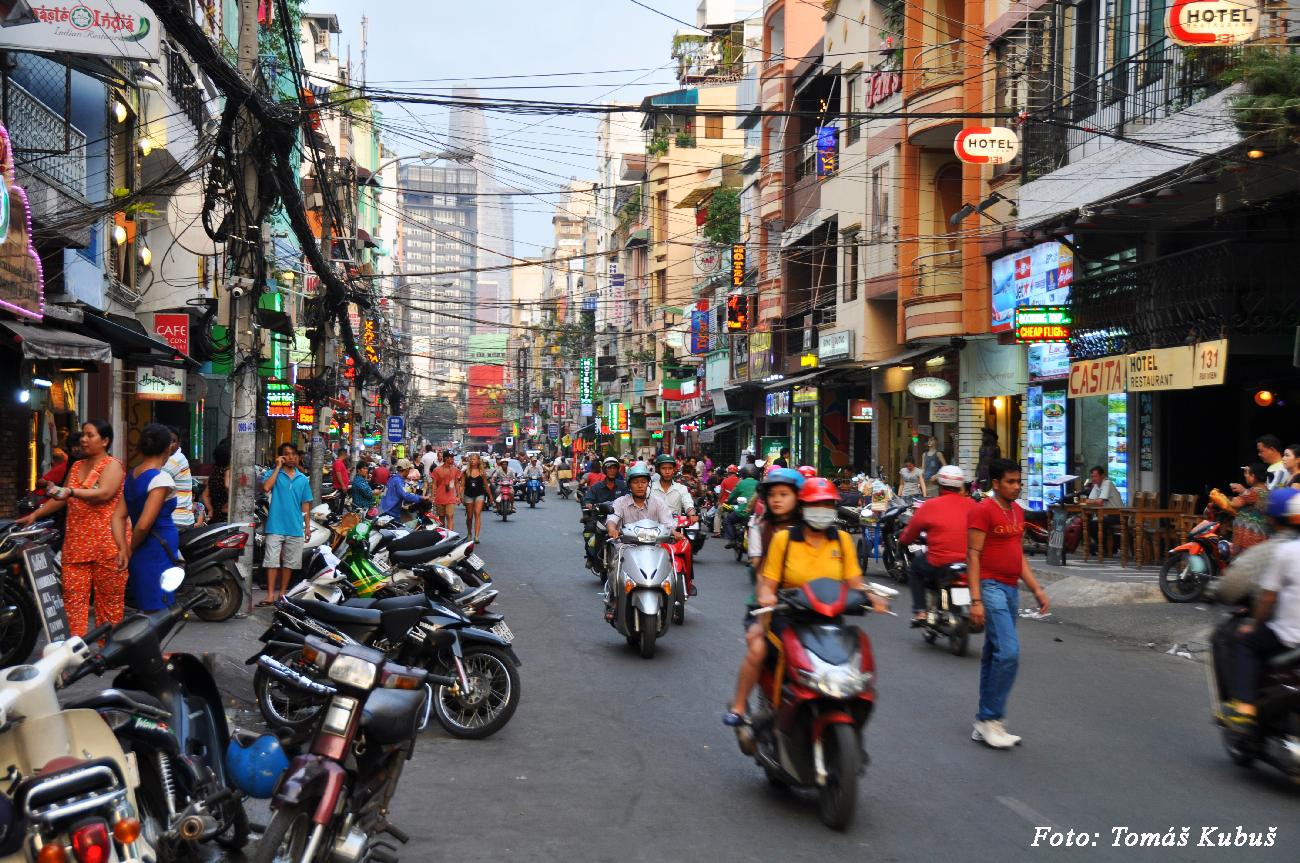 Saigon - chaos starého mesta