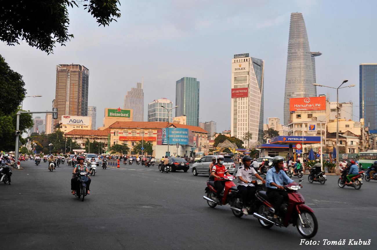Saigon - kapitalistické mesto komunistickej krajiny