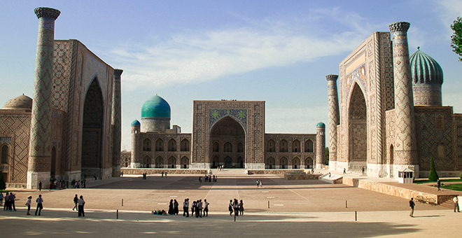 Samarkand Registan small
