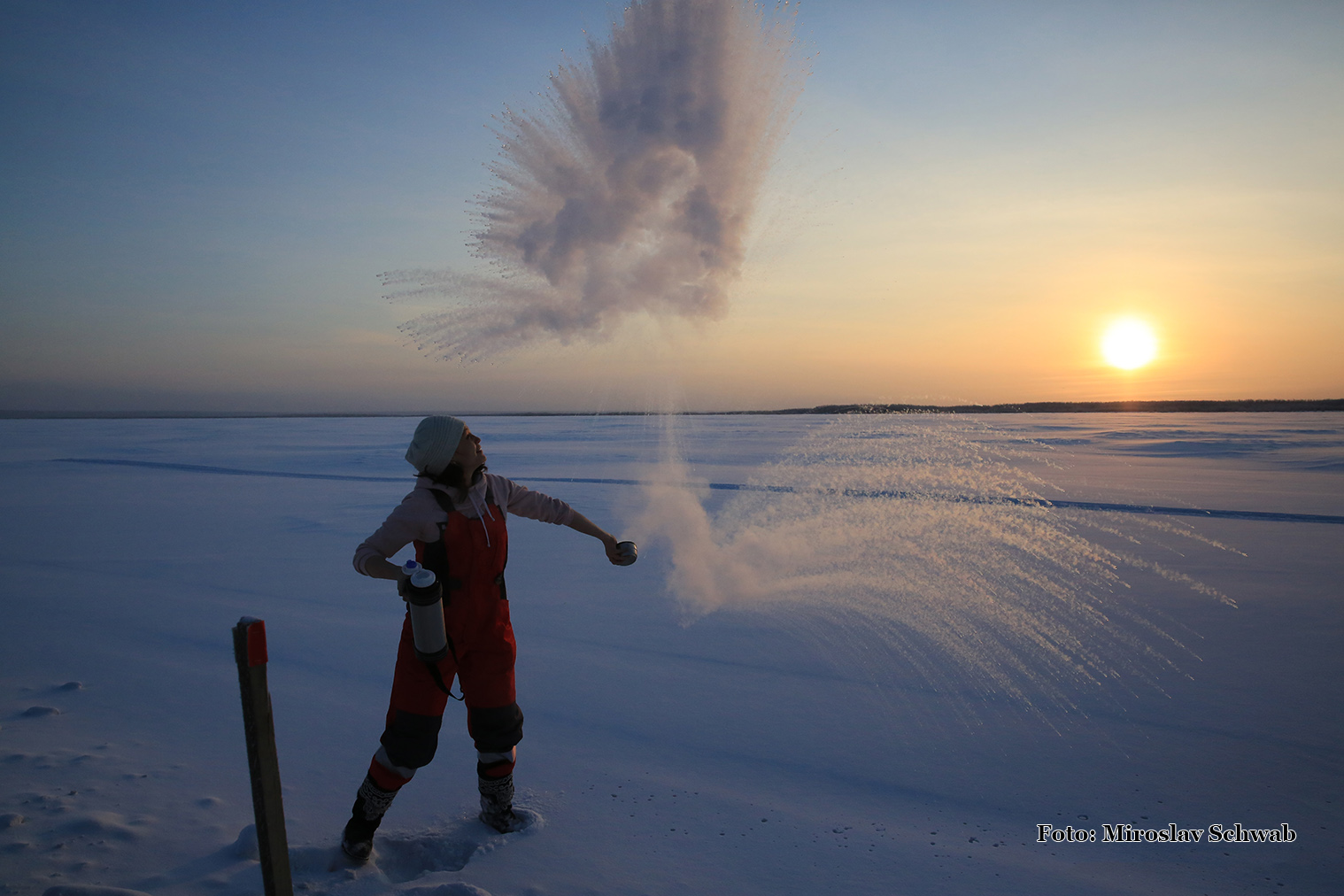 Sibír -53°C