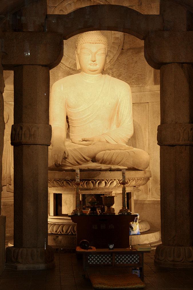 Socha Budhu v Seokguram