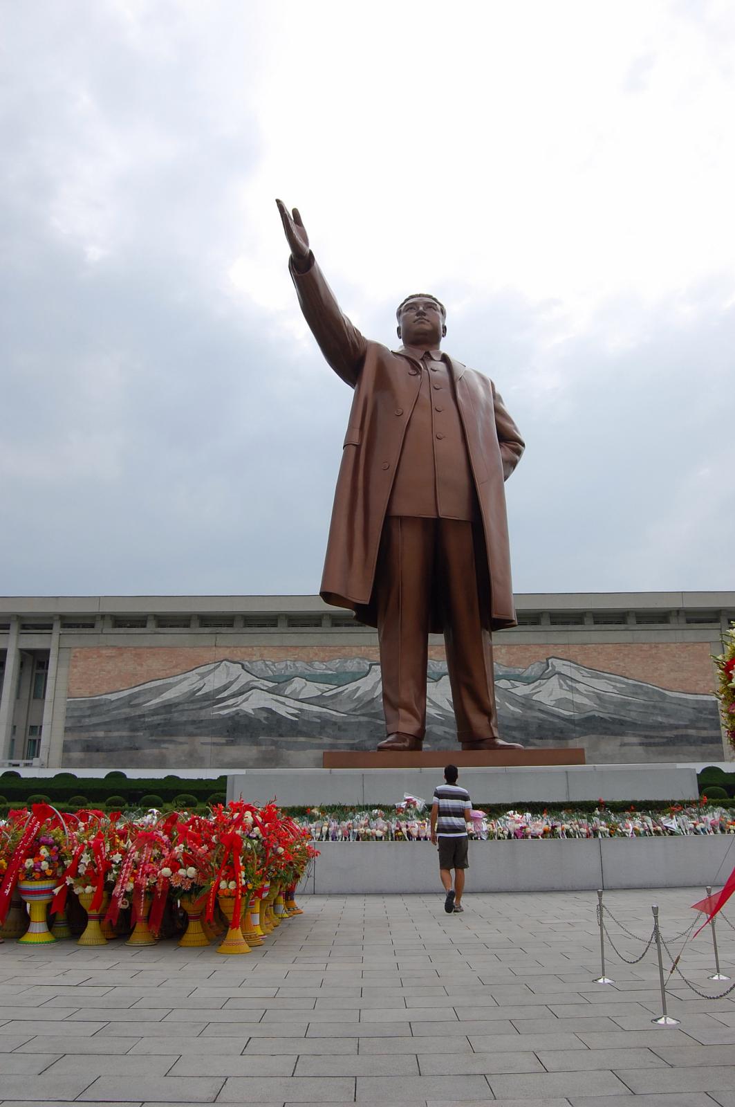 Najväčšia socha Kim Ir Sena