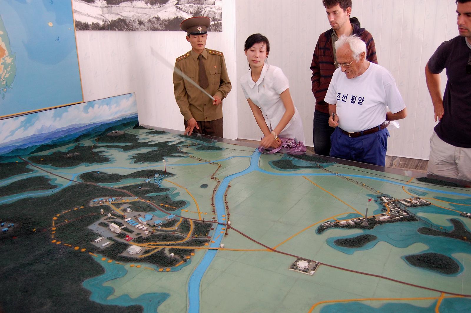 Na hranici s Južnou Kóreou
