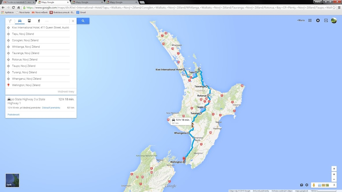 3700 km po Novom Zélande
