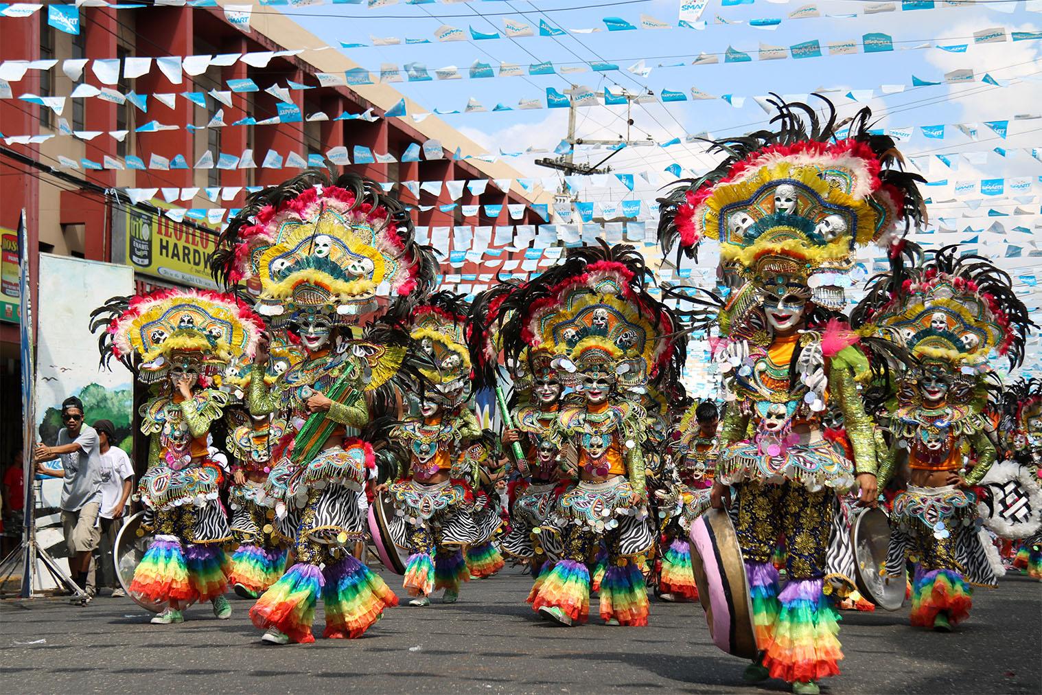 Filipíny - Dinagyang Festival