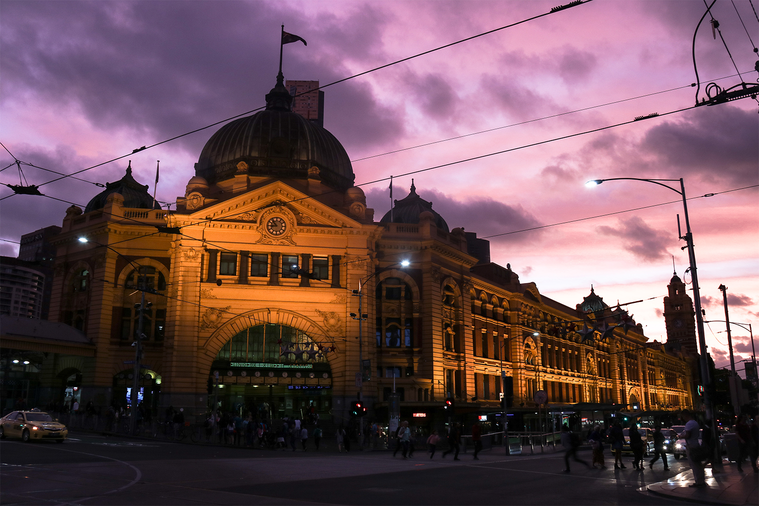 Melbourne, Flinders station