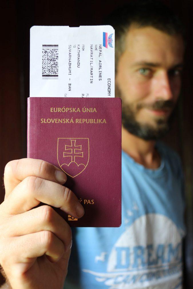 Cestovné pasy - praktické rady