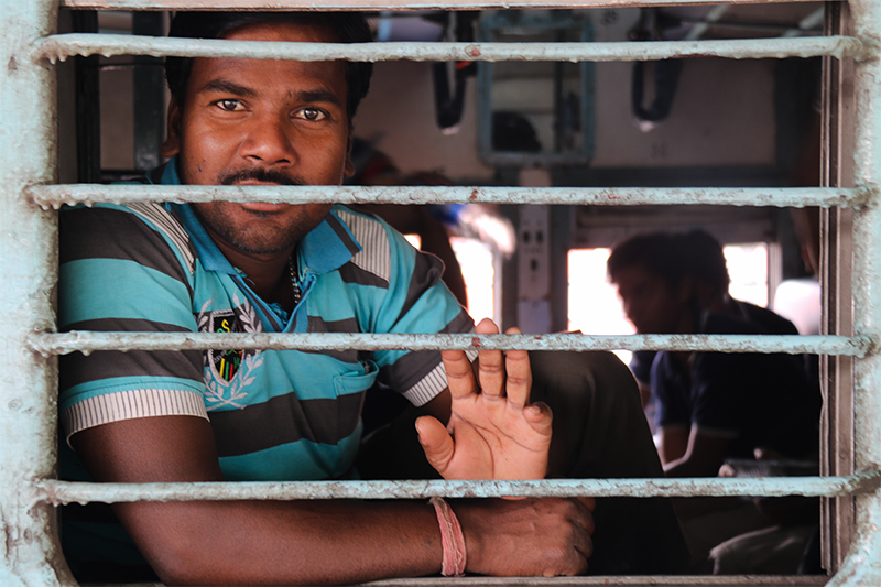 Vlak v Indii