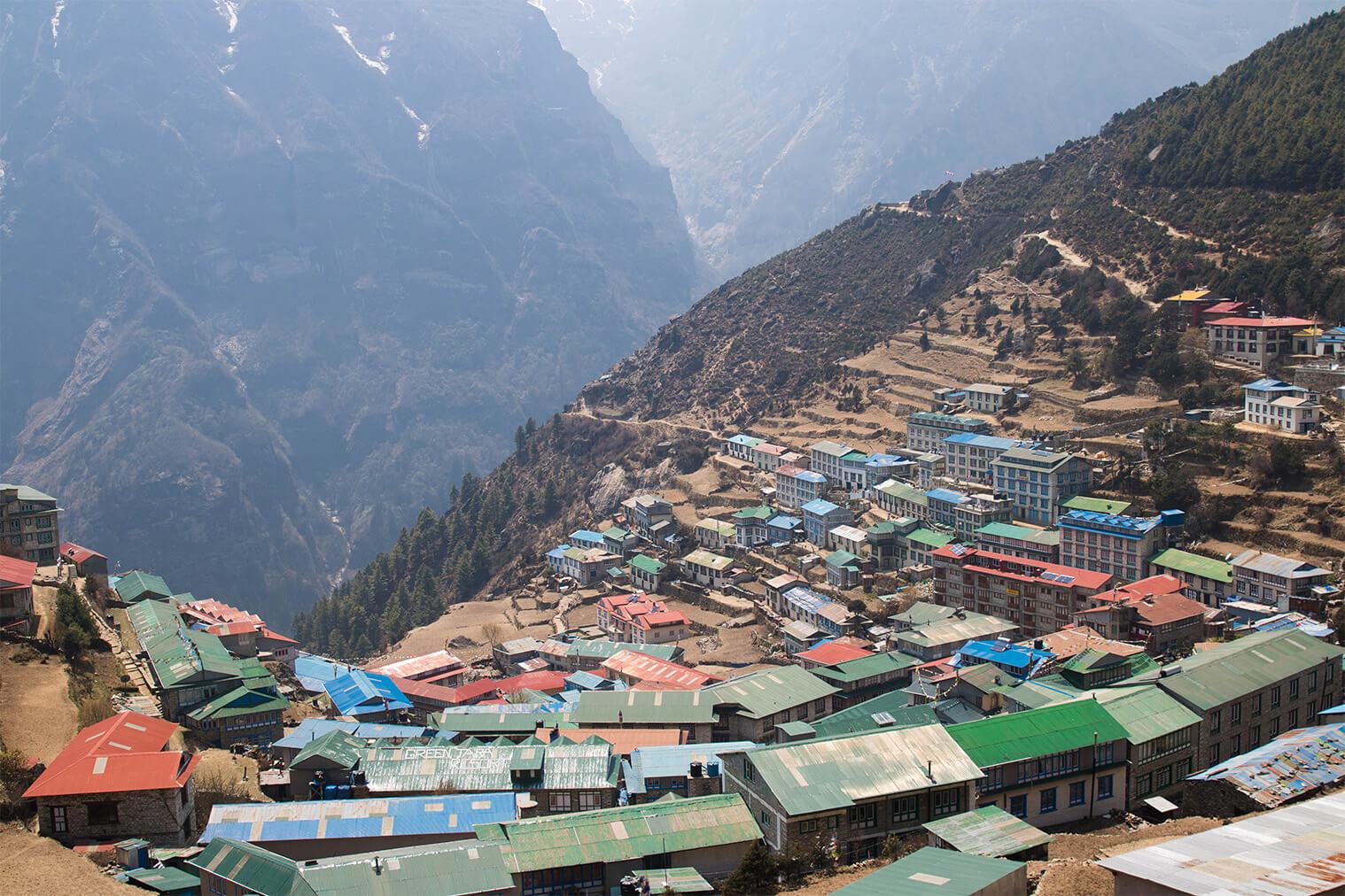 Namche Bazaar (3400 m)