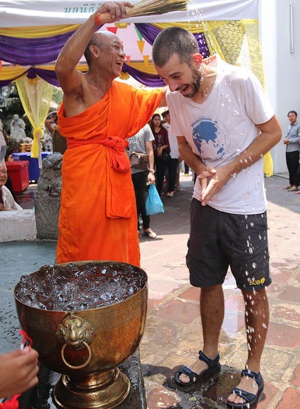 thajský nový rok