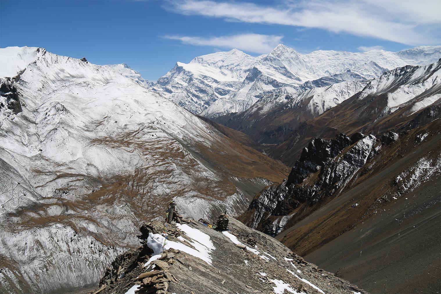 výhľad z High Campu