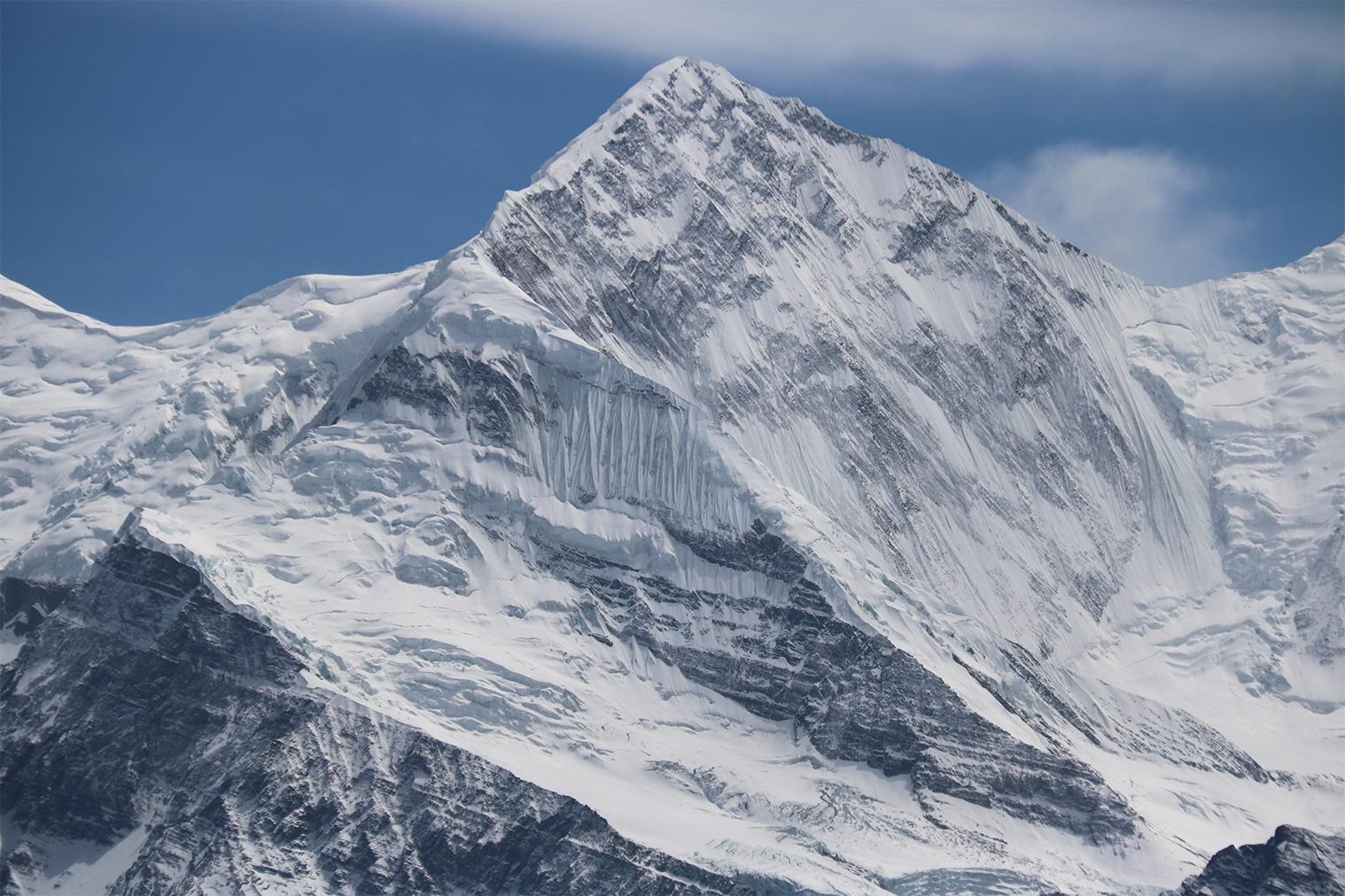 zasnežené Himaláje