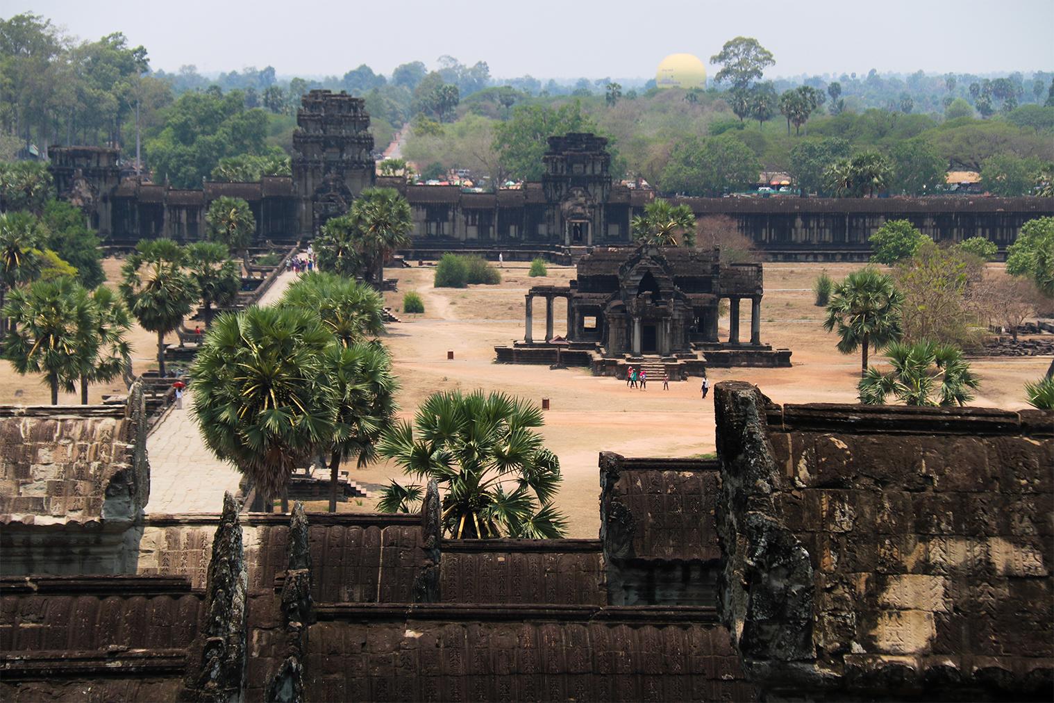 Jedna z najkrajších pamiatok juhovýchodnej Ázie - Angkor