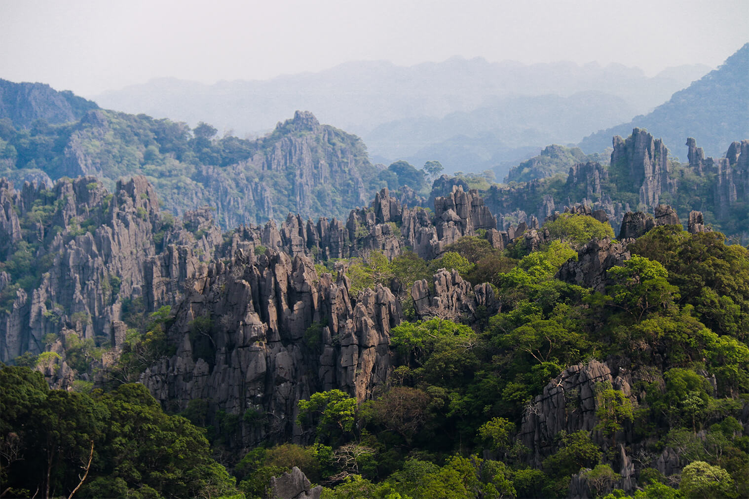 Krásy Laosu