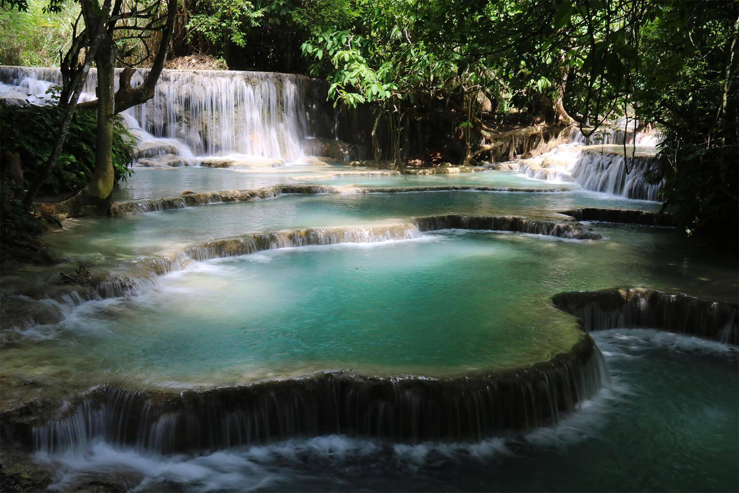 V týchto krásnych vodopádoch sa môžete aj kúpať
