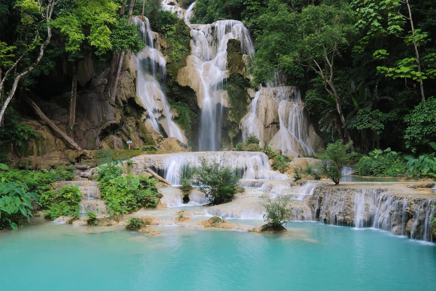 Vodopád Kuang Si