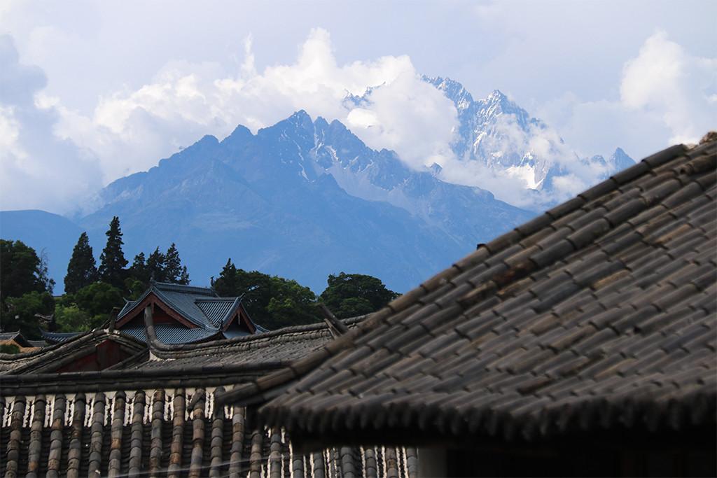 Najkrajšie stredoveké čínske mesto Lijiang