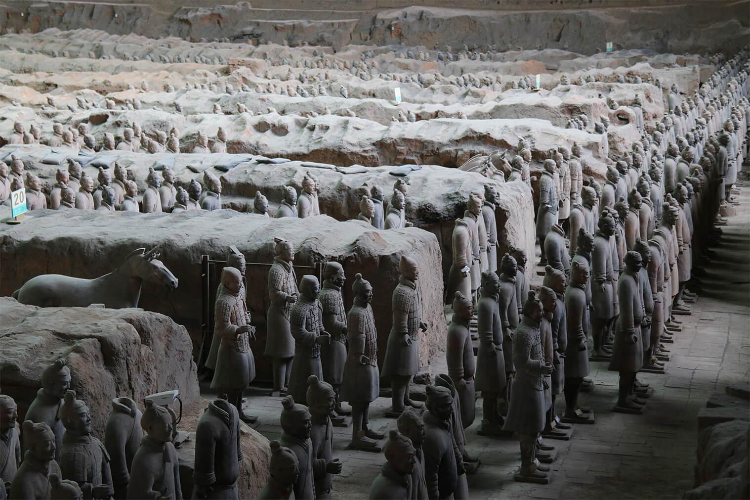 Terakotová armáda, Xian