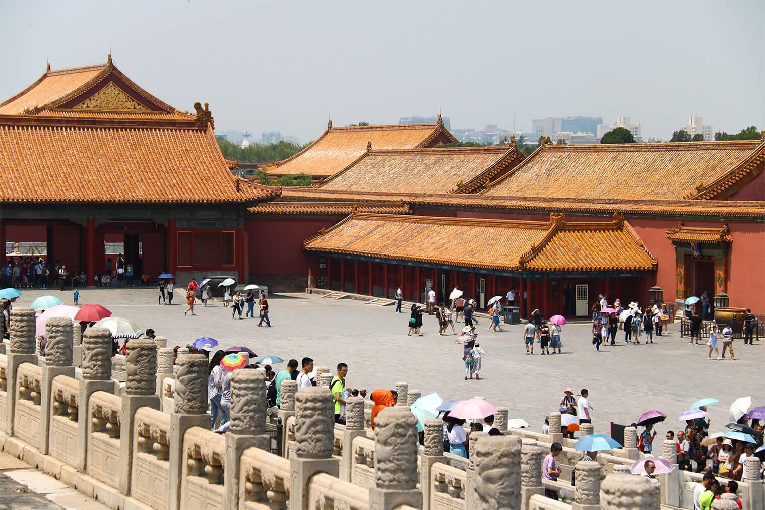 Zakázané mesto, Peking