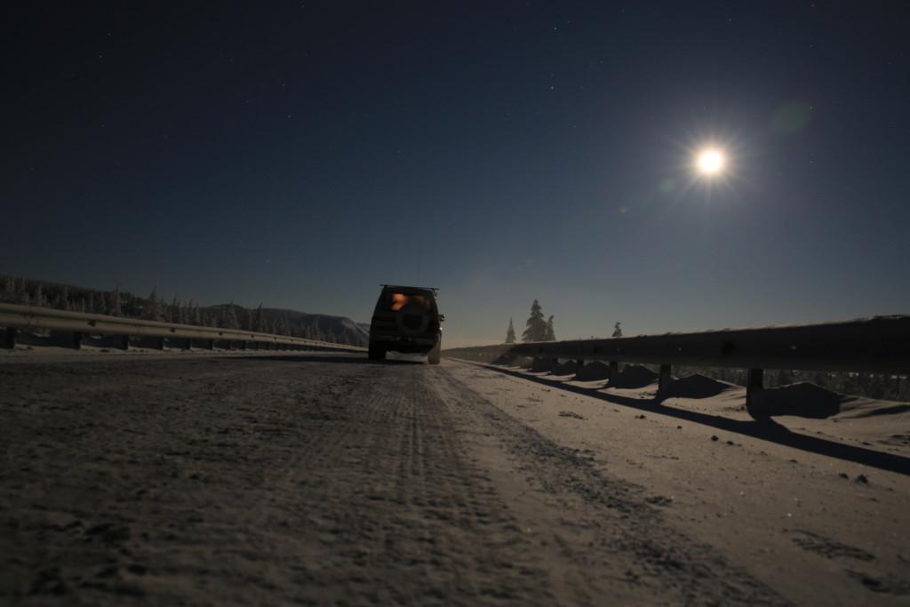 Fotoesej: Cestovanie pri mínus 53°C