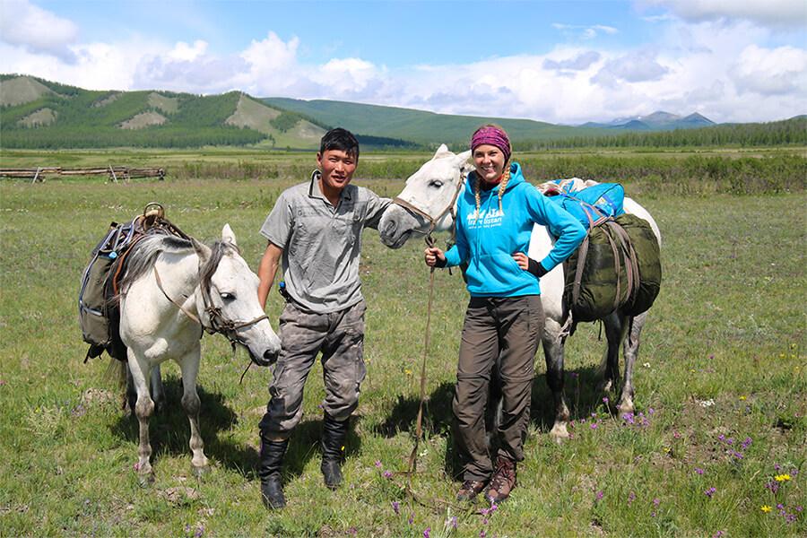 Rozhovor s mongolským nomádom a sprievodcom