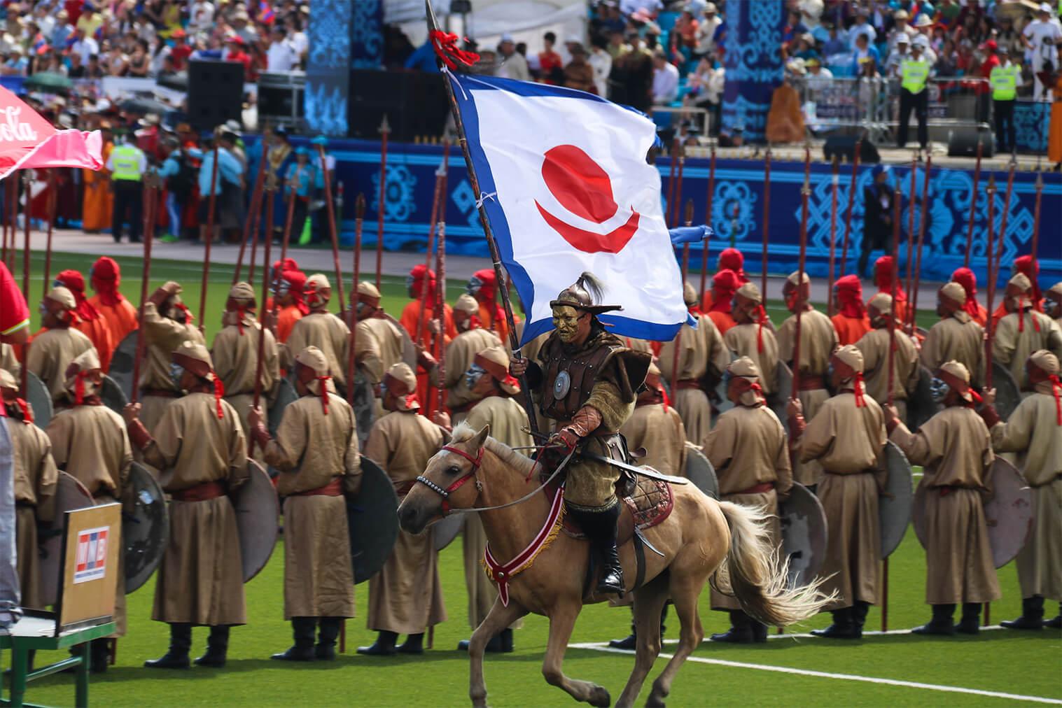 Otvárací ceremoniál, Ulanbátar