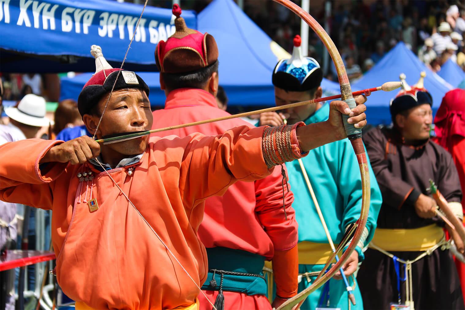 Lukostreľba mužov, Ulanbátar