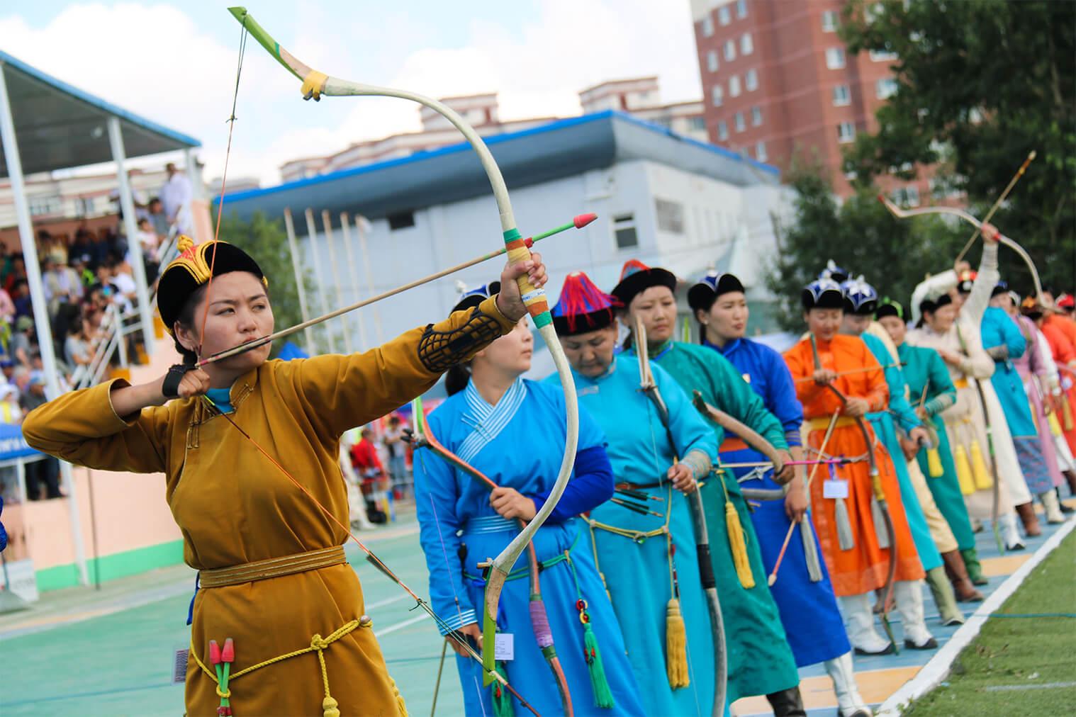 Súťaž lukostreľby žien, Ulanbátar