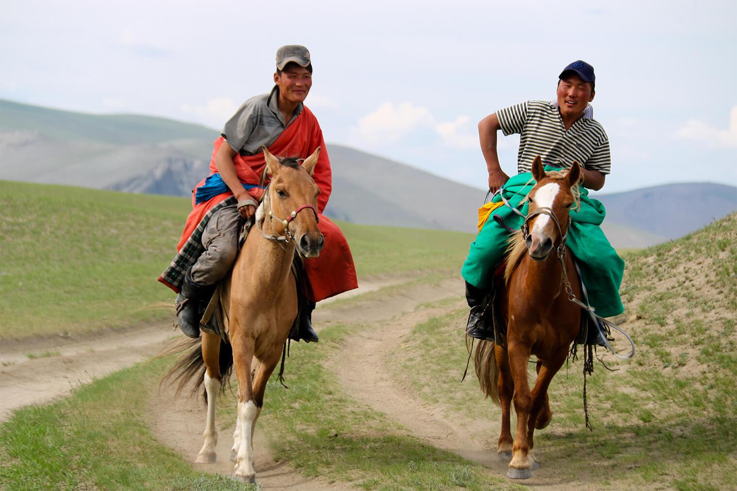 Mongolskí nomádi