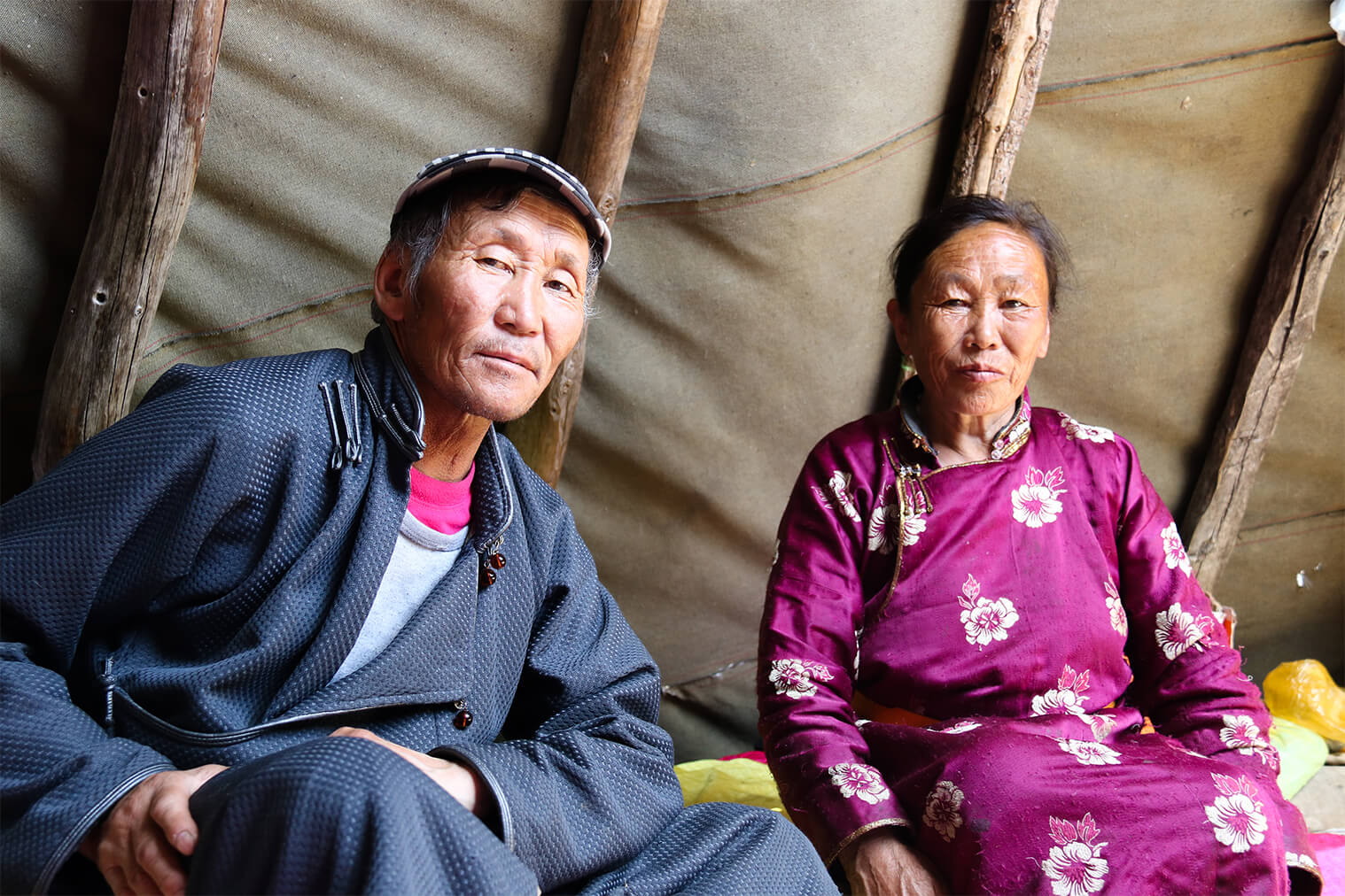 Príslušníci etnika Tsaatan vo východnej tajge