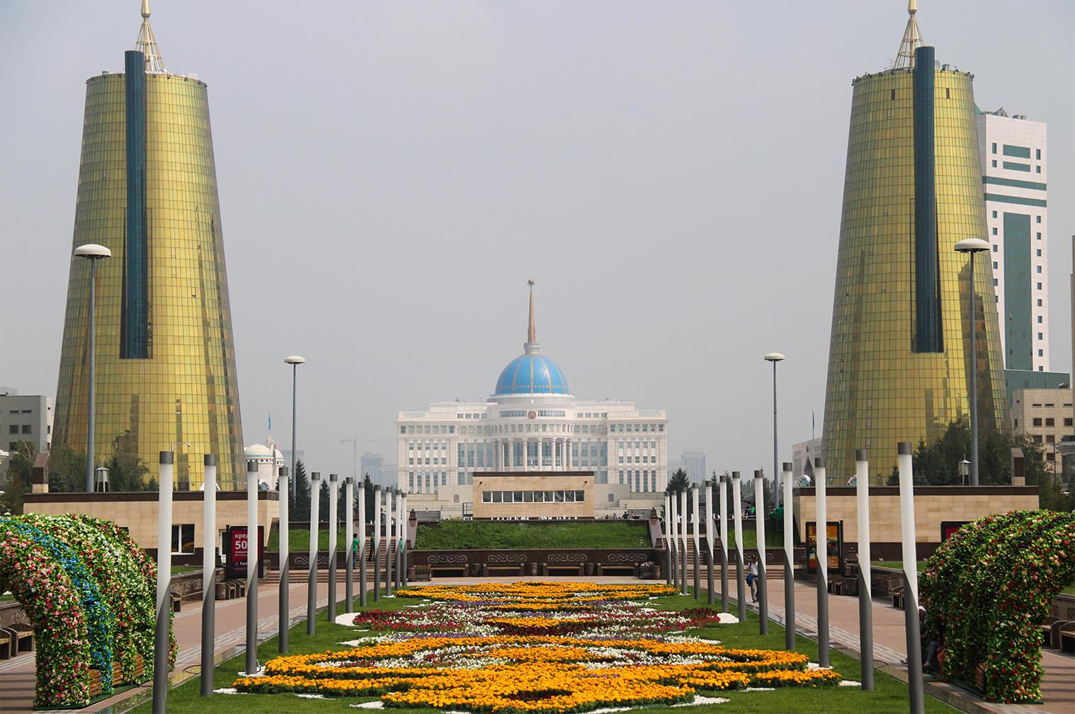 Hlavné mesto, Astana