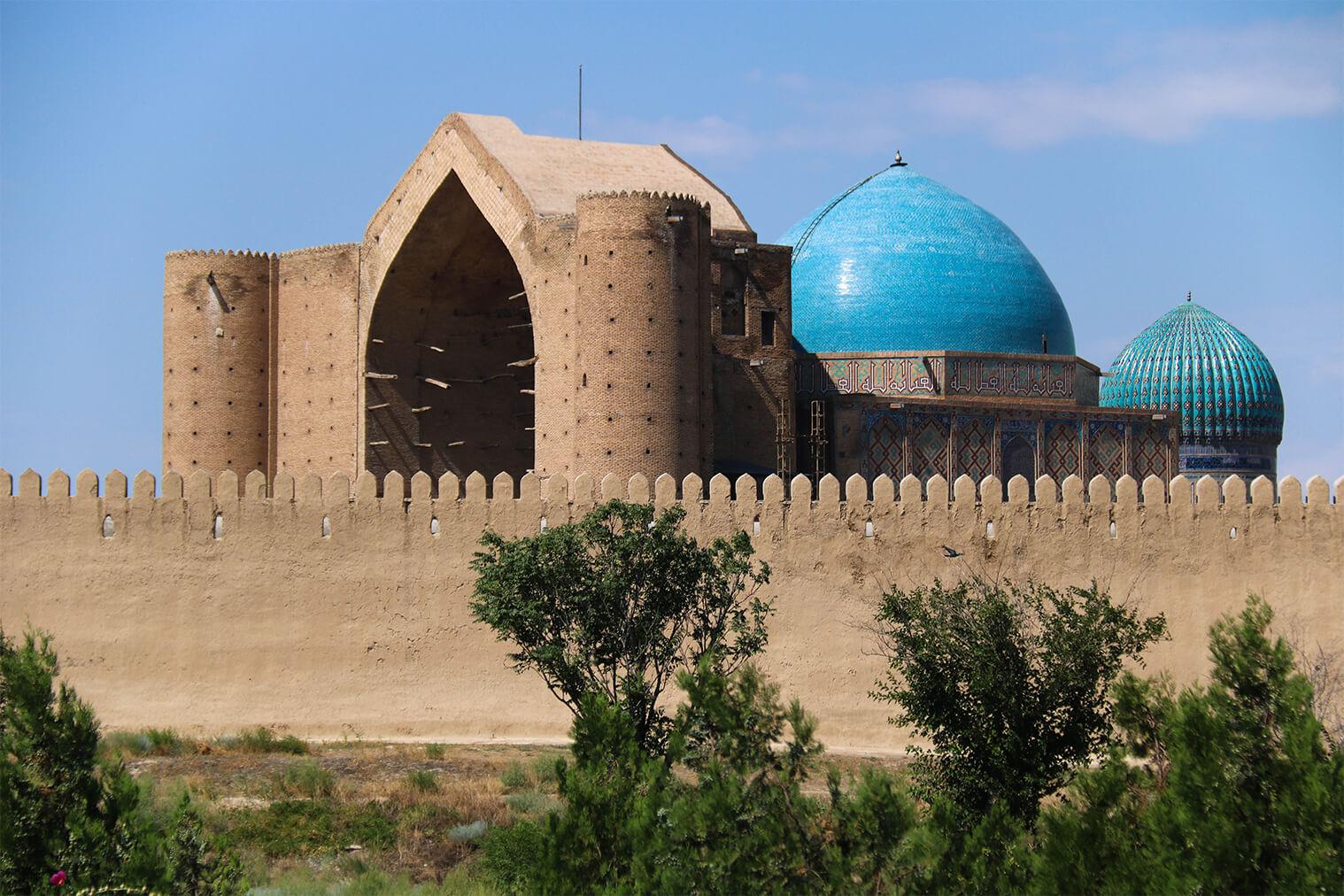 Mauzóleum Khodja Ahmed Yasawi, Turkistan