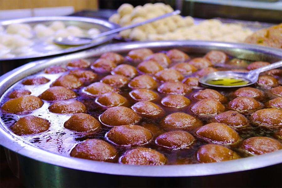 Najlepší indický dezert - gulab jamun
