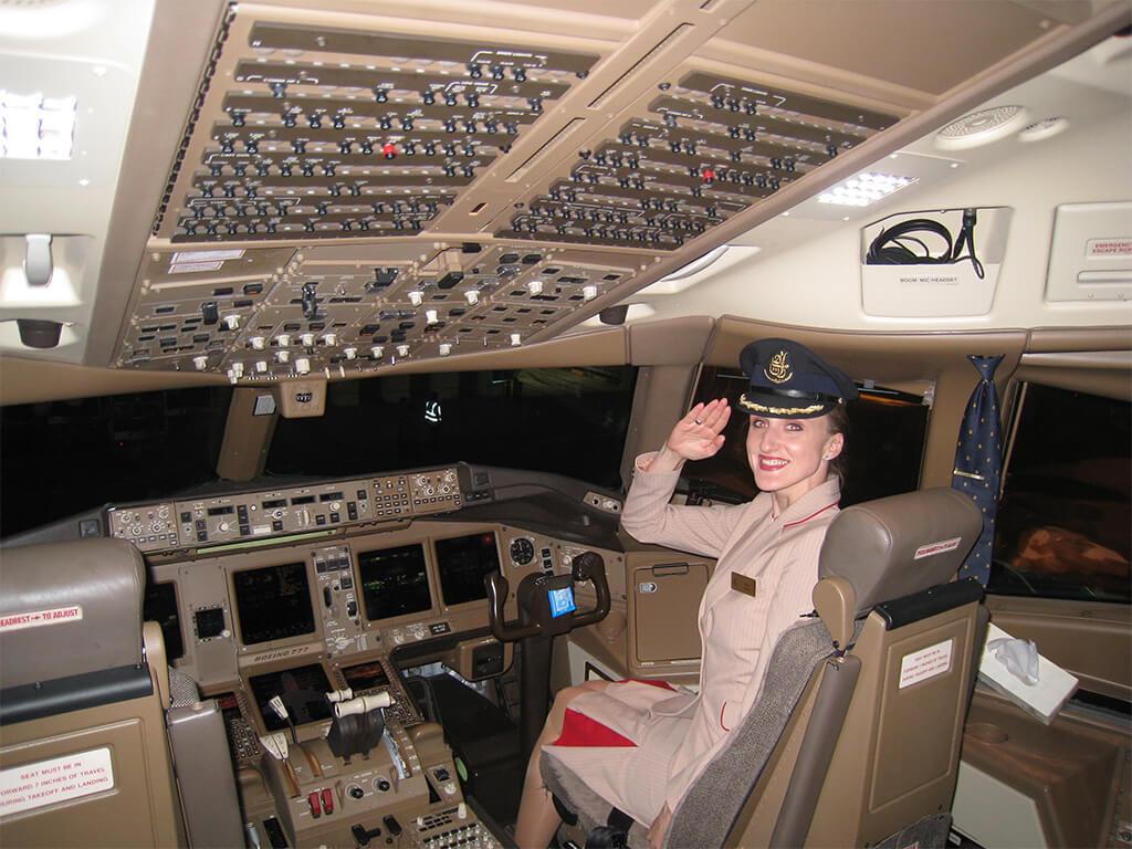 Rozhovor s letuškou